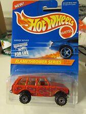 Hot Wheels Range Rover Flamethrower Series