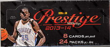 2013-14 PANINI PRESTIGE BASKETBALL HOBBY SEALED BOX: 4 AUTOS/HITS PER BOX