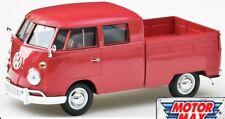 Motor Max-Vw Volkswagen tipo 2 (T1) entrega/recogida (Rojo) - Escala Modelo 1:24