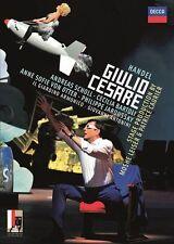 BARTOLI/SCHOLL/ANTONINI/IL GIARDINO ARMONICO - HÄNDEL: GIULIO CESARE  2 DVD NEU