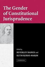 The Gender of Constitutional Jurisprudence (2004, Hardcover)