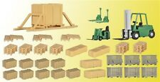 Kibri Kit construcción 38628 H0 Set decoración Transporte