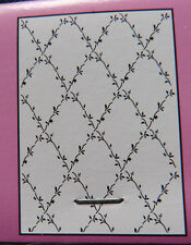 Crafts-Too/CTA4018/carpeta de grabación en relieve// Flor Lattice/A4