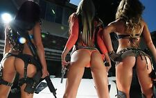 "girls with guns  (11) New 24"" x 36"" poster USA Seller"
