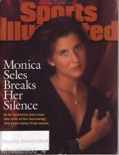 1995 Sports Illustrated Tennis Star Pro Monica Seles Subscription Issue Excellnt