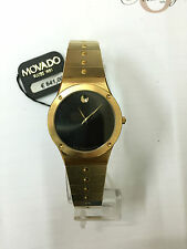 Orologio movado gold donna museum SWISS ORO WATCH gold 88 A2 876 acciaio steel