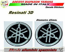 2 Adesivi in resina 3d Yamaha FZ8 decal stickers diapason per serbatoio MT-01