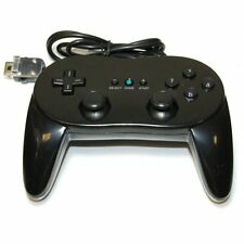 ZedLabz classic pro controller for Nintendo Wii remote wireless joypad - Black