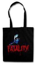 VINTAGE SUB-ZERO FATALITY Hipster Shopping Bag - Mortal Scorpion Raiden Kombat