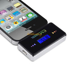 Wireless In-car Handsfree LCD FM Transmitter Music Player for iPhone 4s 5s 5c