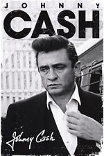 Johnny Cash Signature Music Poster People Poster Print, 24x36