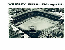 1950'S CUBS PARK WRIGLEY FIELD CHICAGO CUBS 8X10 PHOTO USA  VINTAGE BASEBALL