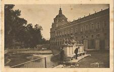 Tarjeta Postal BELLEZAS Y ENCANTOS DE ARANJUEZ. El Palacio y la Ría.