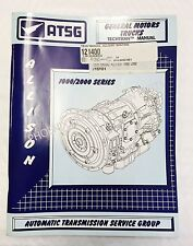 Allison 1000 2000  Transmission ATSG Service and Repair Manual for Silverado