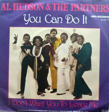 """7"""" 1979 MINT-! AL HUDSON & THE PARTNERS : You Can Do It"""