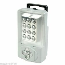PORTABLE BATTERY OPERATED EMERGENCY 17 LED LIGHT LAMP