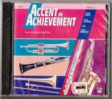 Accent on Achievement Book 2 Accompaniment 2 CD set