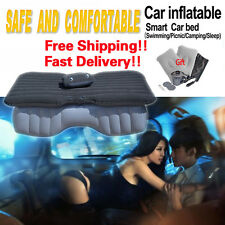 Car Air Mattress Travel Sex Beds Flocking Inflatable Camping Airbed +2 Pillow