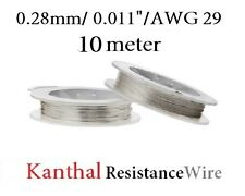 10 Meter Kanthal 0.28mm 29awg Resistance Heating Atomizer Wire Microcoil RBD