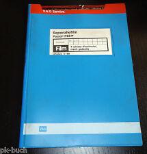 Reparatiefilm Microfich VW Passat B3 35i 4-cilinder Dieselmotor mech. gedeelte