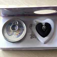 A Set Box Love Wish Pearl Necklace Set Oyster Drop Pendant for lover