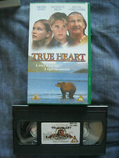 TRUE HEART VHS VIDEO. EAN: 5014780577138. Cert.PG. Kirsten Dunst. Family.