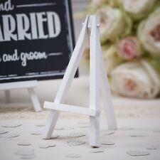 Mini White Wood Easels (3 Pack) Ideal for Table Numbers - Signs