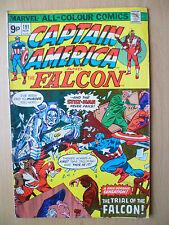 CAPTAIN AMERICA & THE FALCON- Marvel Comic, Nov 1975 issue, Vol.1, No.191