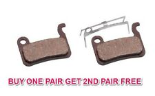 PAIR SHIMANO XTR BR-M965 REPLACEMENT CLARKS ORGANIC DISC BRAKE PADS & SPRINGS