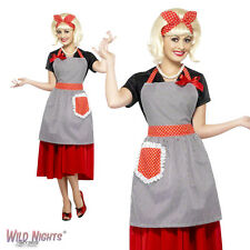 FANCY DRESS ACCESSORY # LADIES 1950s HOUSEWIFE HONEY INSTANT DRESS UP KIT