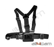 Chest Mount Harness Adjustable fits GoPro HD HERO5 HERO 5  Camera Accessories