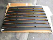 DATSUN 78-81 510 HATCHBACK NOS REAR WINDOW ALUMINUM LOUVERS 99990-00259