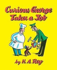 Curious George Takes a Job by H. A. Rey c1974 NEW Paperback We Combine Shipping
