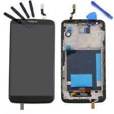 LCD Display Touch Screen Digitizer Assembly + Frame Bezel For LG Optimus G2 D802