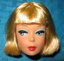 VINTAGE REPRODUCTION AMERICAN GIRL BARBIE REPLACEMENT REPRO GOOD HAIR HEAD HTF!