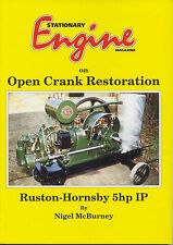 Open Crank Engine Restoration - Ruston Hornsby 5hp IP by N. McBurney