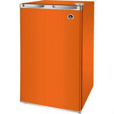 Mini Drink Refrigerator Igloo 3.2 cu ft Fridge Cooler Dorm Freezer Orange