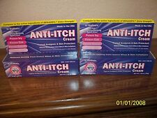 lot of 2 Dr. Sheffield's Anti-itch Cream 1.25 oz Tubes  Poison Ivy/Insect Bites