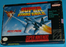 Super Strike Eagle - Super Nintendo SNES - USA