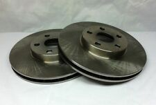 Fits Nissan 350Z Front 2 Blank Rotors