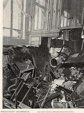 75 PARIS PLACE LA BOURSE EXPLOSION RESTAURANT CHAMPEAUX SALON CYRUS IMAGE 1898