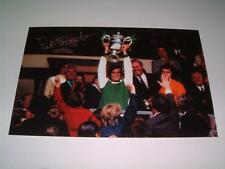 HIBERNIAN FC LEGEND PAT STANTON SIGNED (PRINTED) 1972 DRYBOROUGH CUP FINAL PHOTO