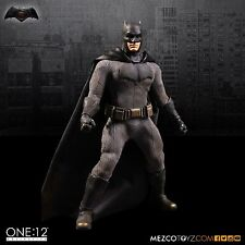 Mezco One 12 Collective Batman vs Superman Dawn of Justice Batman 6 Inch Figure