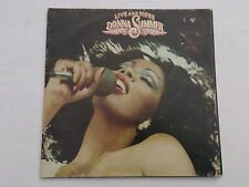 DONNA SUMMER Live and More CALD 5006  Pye 1978 UK 1st press Dbl LP trifold nr ex