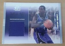 2003-04 SP Game Used #79 JSY Chris WEBBER