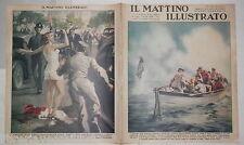 1938 Naufragio baleniera Duca di Lauzun Rosandic Spogliarello Budapest Ombrello