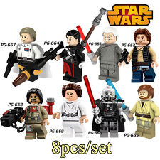 5 - Star Wars Rogue One - minifigures LEGO - PACK 8
