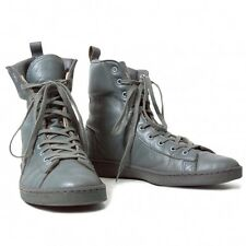 Y's for men high-cut leather sneakers Size About 11in(K-10792)