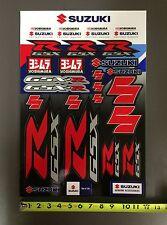 Team Suzuki Yoshimura Racing Sticker / Decal Sheet Kit GSXR G-SXR 600 750 1000