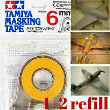 Tamiya 87030 Masking Tape 6mm for Paint Model RC Car Plane Craft (1pc+2refill)